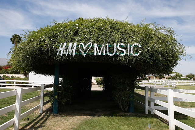 H&M Loves Music Coachella: 2013 Kick Off Event at Merv Griffin E