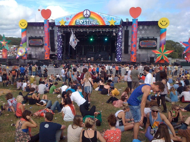 bestival main stage