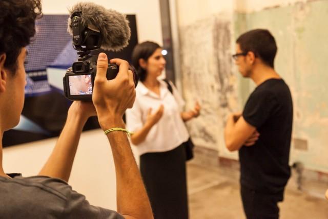 Entrevistas durante o Sónar+D, na RedBull Station em São Paulo
