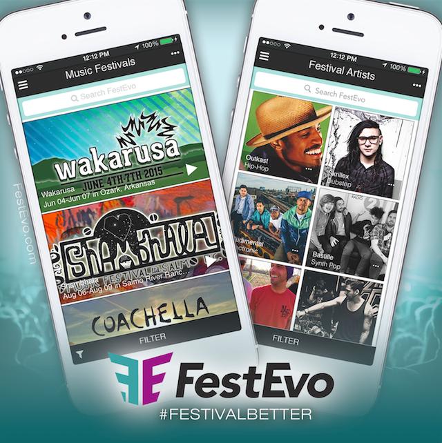 O aplicativo FestEvo