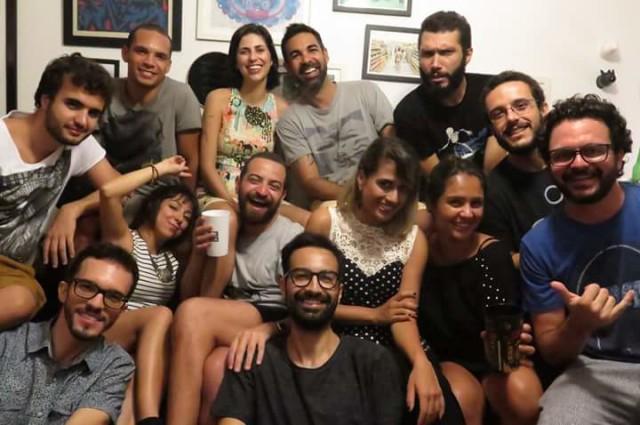 Foto da festa de encerramento do Projeto Pulso