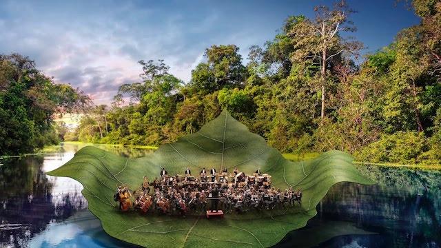 Rock in Rio vai levar uma orquestra no meio da Amazônia
