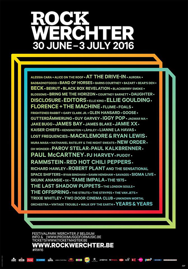 Rock Werchter - Line up