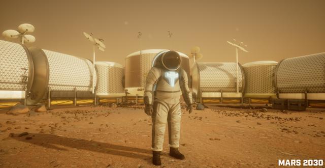 Você, dentro do traje espacial