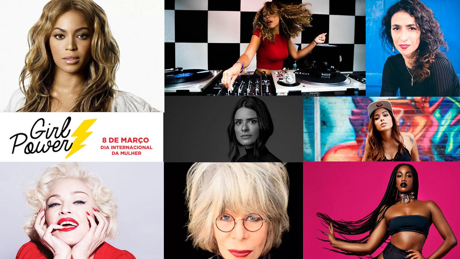 Mulheres no comando da música para comemorar o Dia Internacional da Mulher