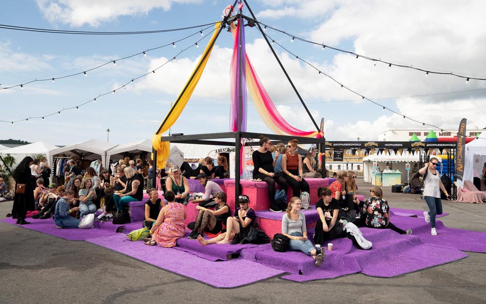 Statement Festival: o festival sueco que baniu a presença de homens cisgênero