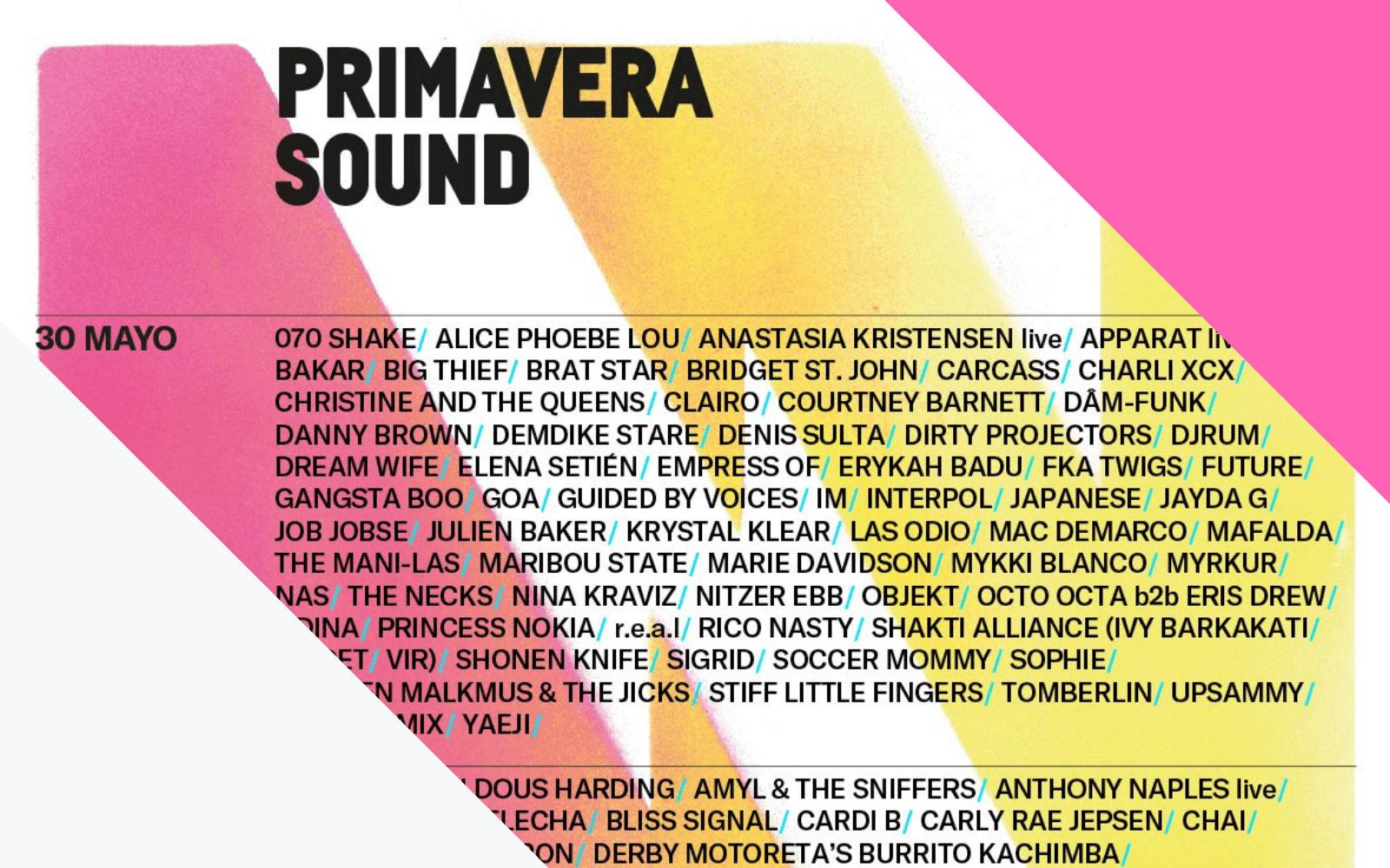 Como ir para o Primavera Sound Barcelona 2019?