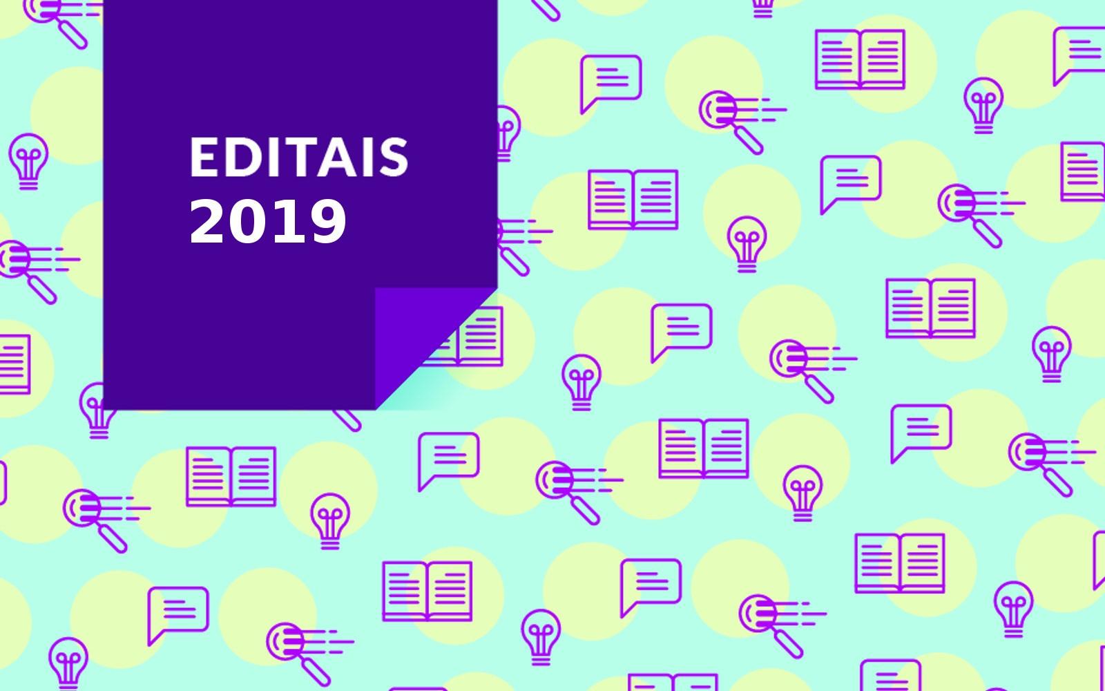 Editais 2019 para produtores de eventos culturais