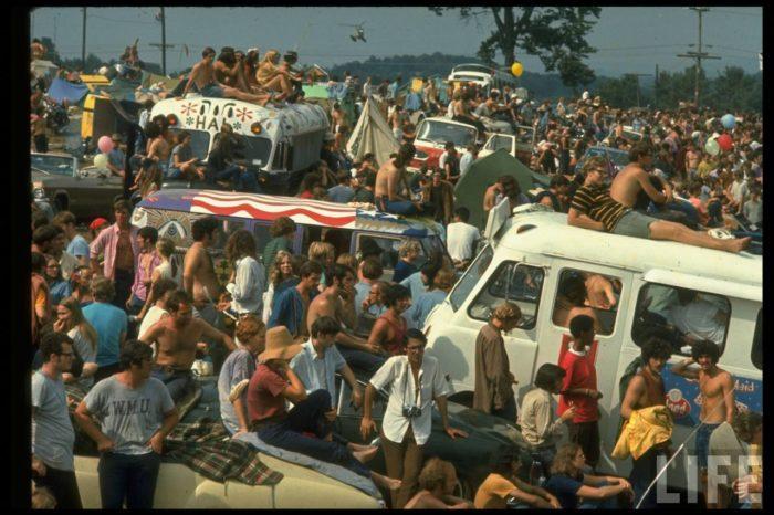 Público do Woodstock 1969