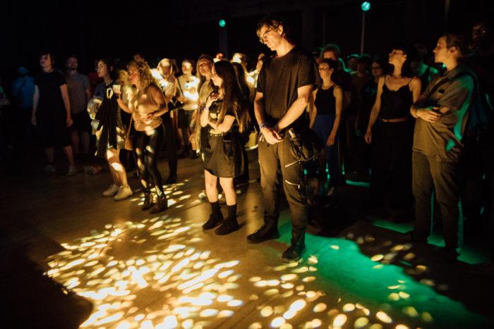Público no festival Mutek 2019