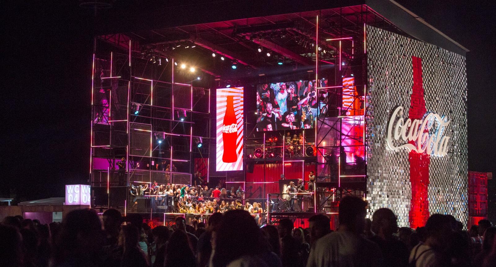 Ativação de marca Rock in Rio - Coca-Cola