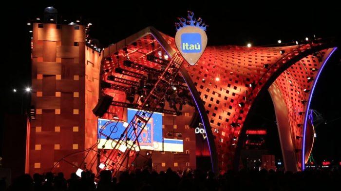 Arena Itaú é principal ativação no Rock in Rio