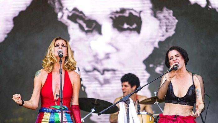 Letrux e Marina Lima no Festival Sarará