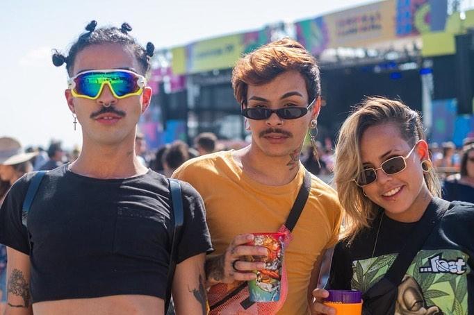 público no festival sarará