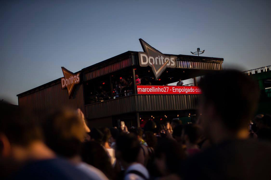Ativações de marca no Rock in Rio 2019: Doritos abraça a diversidade e acessibilidade