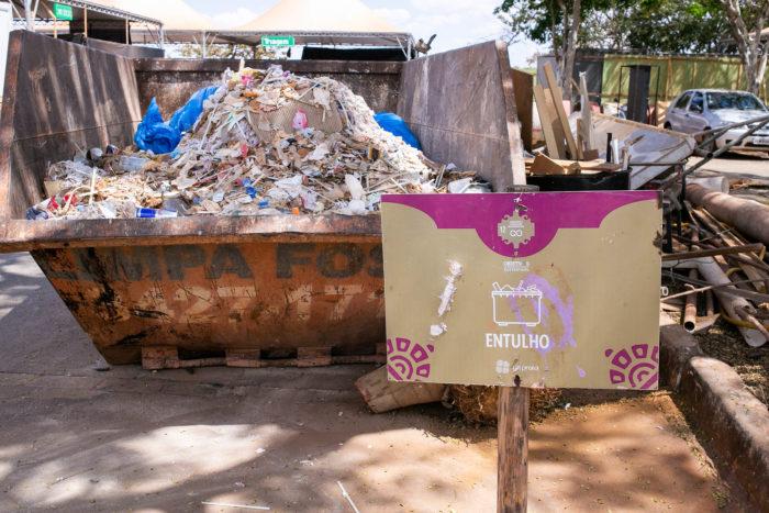 Gestão de lixo no festival Na Praia
