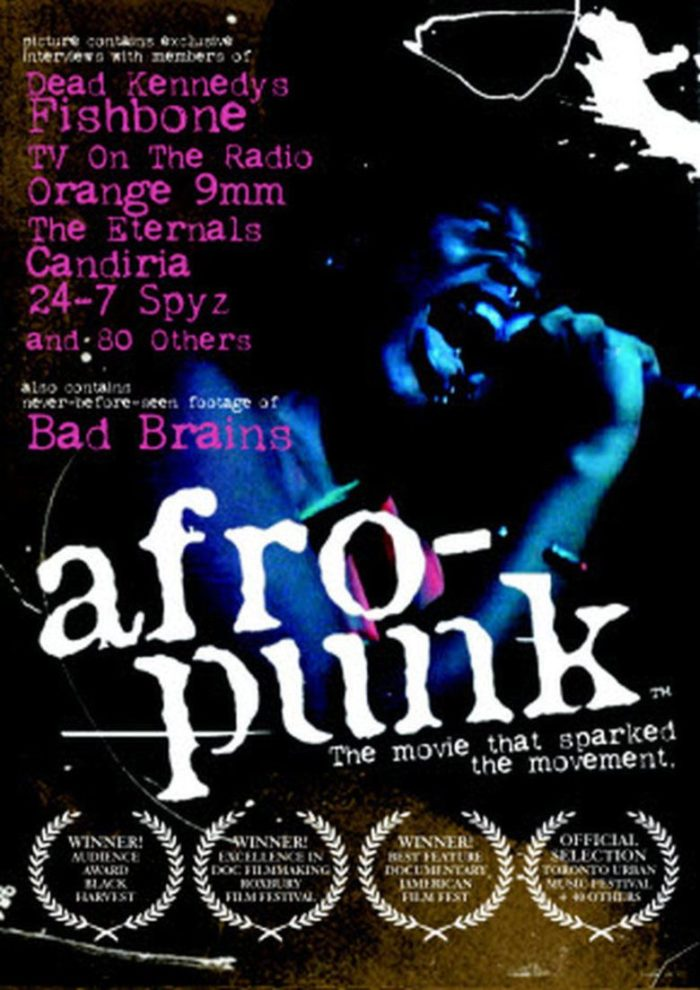 Cartaz filme Afro-punk