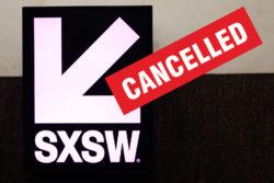 sxsw cancelado
